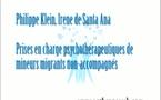 Prises en charge psychothérapeutiques de mineurs migrants non-accompagnés