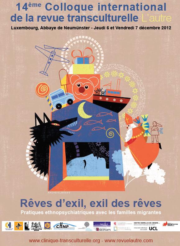 14ème Colloque international de la revue transculturelle L'autre, Luxembourg, Abbaye de Neumünster, Jeudi 6 et vendredi 7 décembre 2012