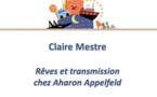 Rêves et transmission chez Aharon Appelfeld