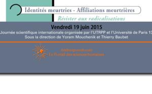 Identités meurtries - Affiliations meurtrières. Resister aux radicalisations : Introduction