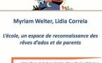 L'école, un espace de reconnaissance des rêves d'ado et de parents