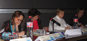 Claire Mestre, Marie-Rose Moro, Françoise Sironi, Anne Cadoret