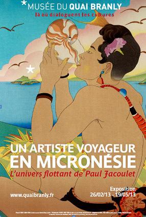 Un artiste voyageur en Micronésie, l'univers flottant de Paul Jacoulet