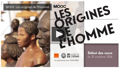 MOOC du Musée de l'Homme : Les origines