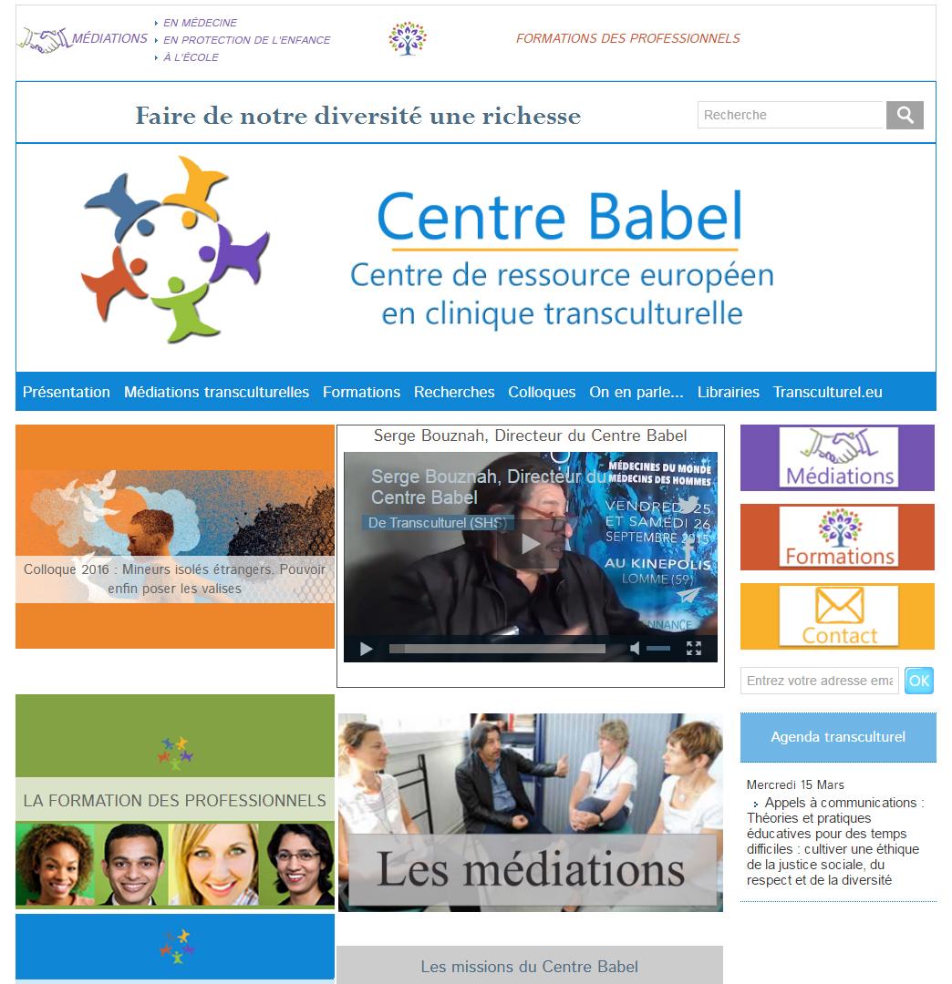 Ouverture du Portail partenaire : Transculturel.eu