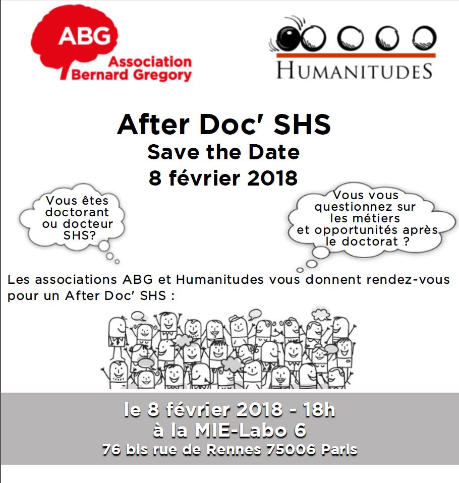 After Doc'SHS, 8 février, Paris