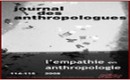 L'empathie en anthropologie, Journal des anthropologues 114-115, 2008