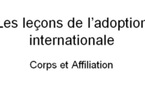 Leçons de l'adoption internationale : corps et affiliation