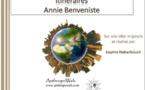 Itinéraires : Annie Benveniste