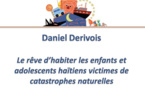 Le rêve d'habiter des enfants et adolescents haïtiens victimes de catastrophe naturelle