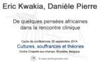 De quelques pensées africaines dans la rencontre clinique